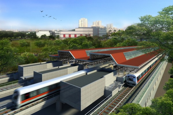 0.1_New Aerial View of Jurong East MRT Station