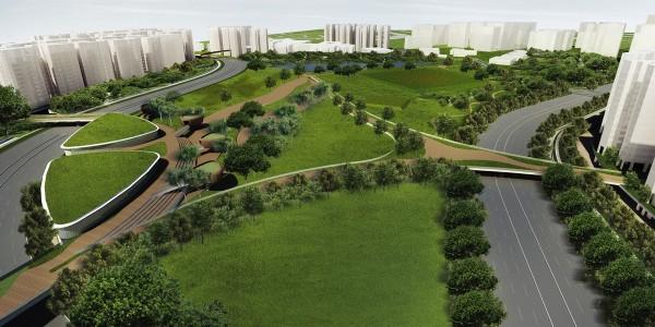 Bidadari_view towards central garden